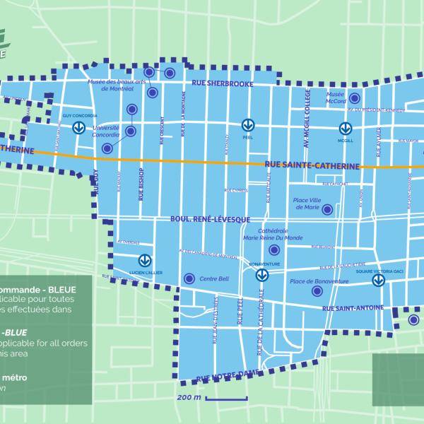 Zone de commande de Génie centre-ville