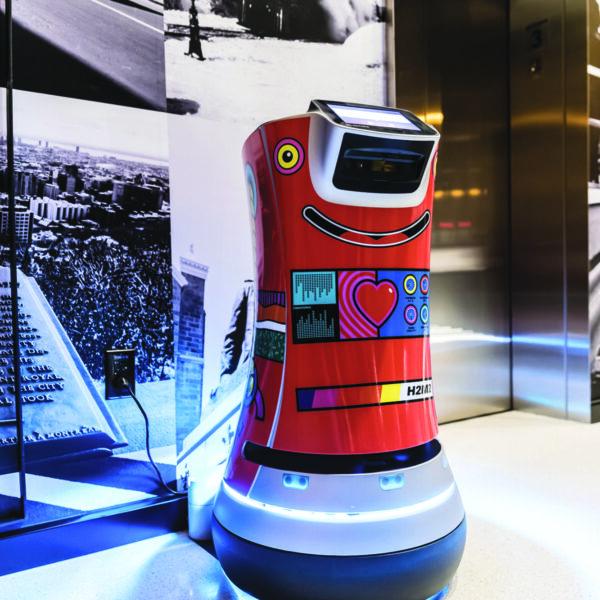 Le Robot de l'Hôtel Monville