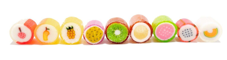 Bonbons Candylabs, 6 $ le tube de 30 grammes chez Candylabs