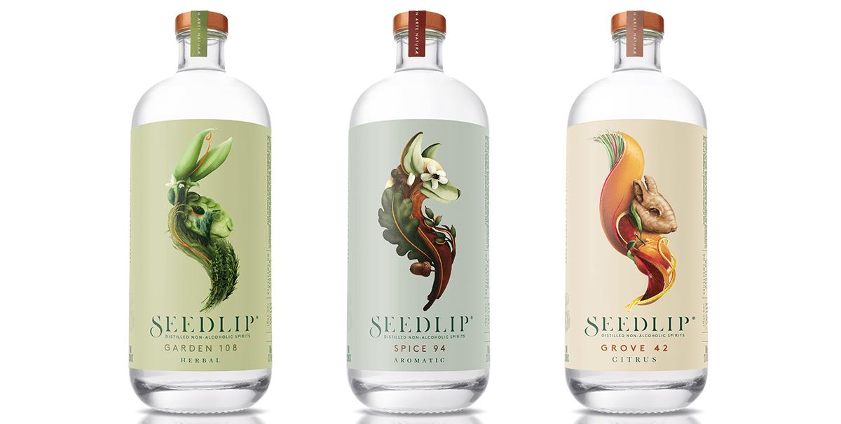 Spiritueux sans alcool Citrus, Seedlip, 45 $, Marché Artisans
