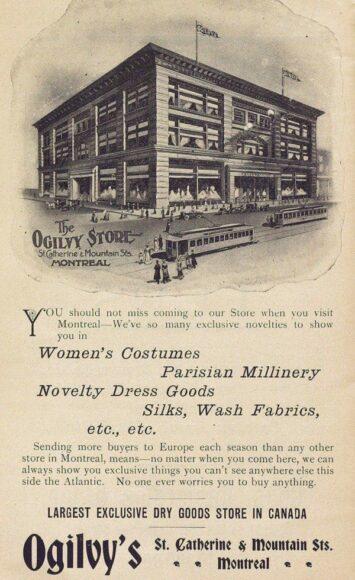 Publicité du magasin Ogilvy, 1906,P98-01_030 24